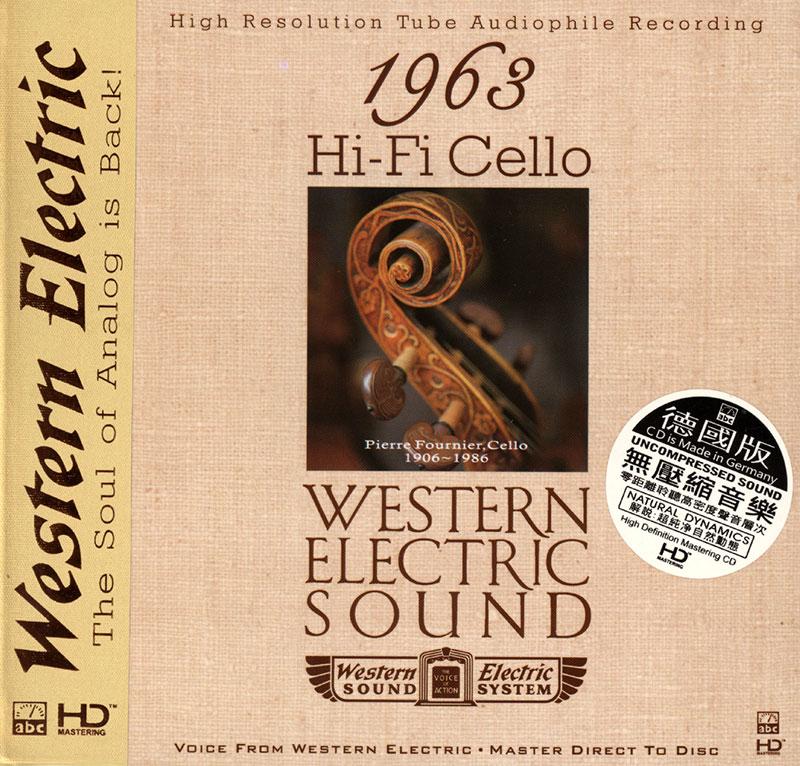 Western Electric Sound - 1963 Hi-Fi Cello image