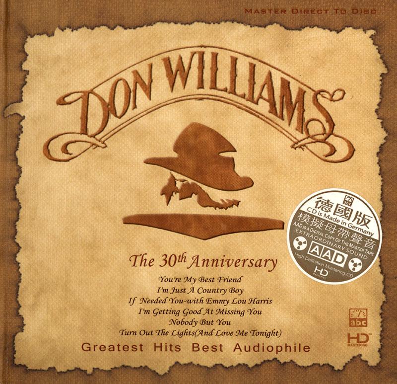 Don Williams - The 30th Anniversary
