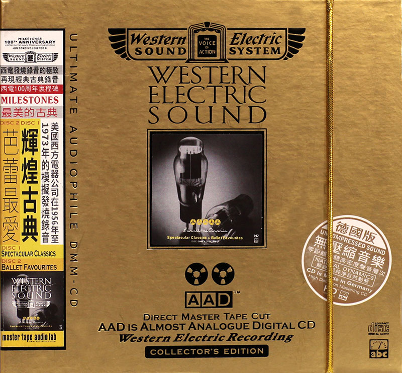 Western Electric Sound - 01/02 - Spectacular Classics / Ballet Favourites image