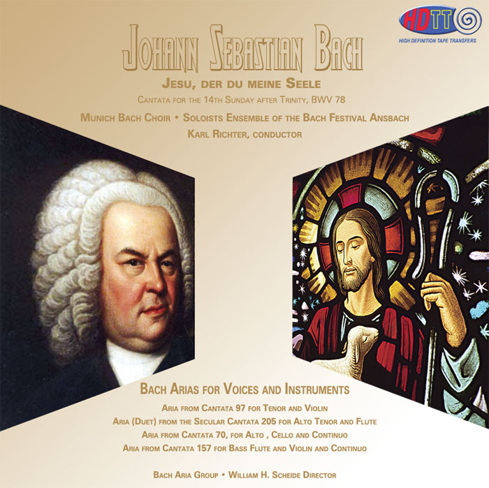 Cantata: Jesu, der du meine Seele / Arias for Voices and Instruments