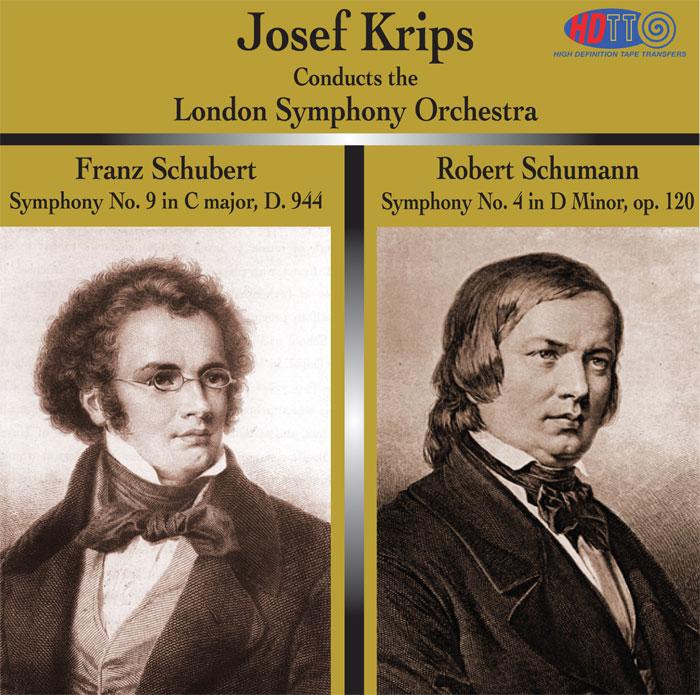 Symphony No. 9 in C major /  Symphony No. 4 in D Minor