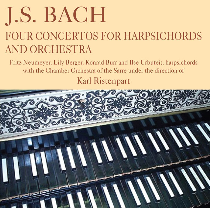 Four Concertos for Harpsichords and Orchestra