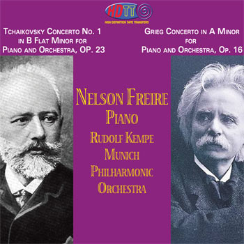 Piano Concerto No. 1 in B Flat Minor, Op. 23 // Piano Concerto in A Minor, Op. 16 image