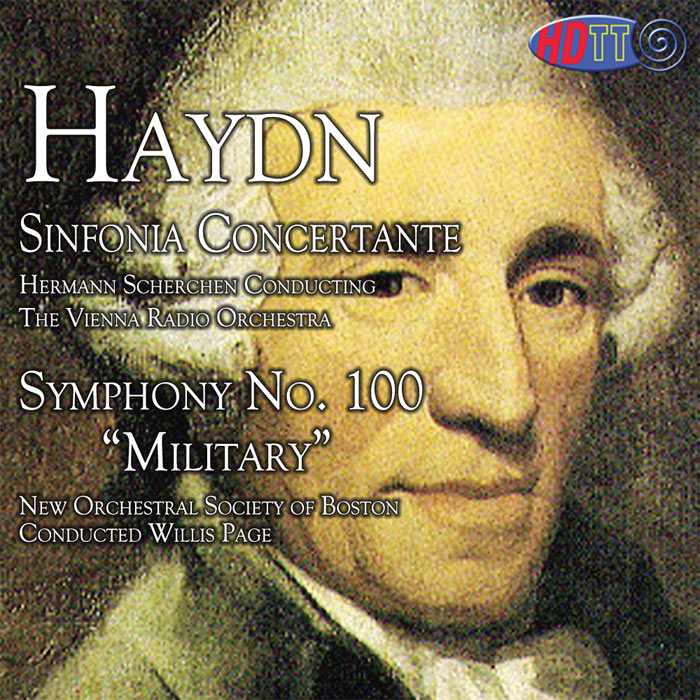 Haydn Sinfonia Concertante in B fat, Op. 84 / Haydn Symphony No. 100 Military Symphony