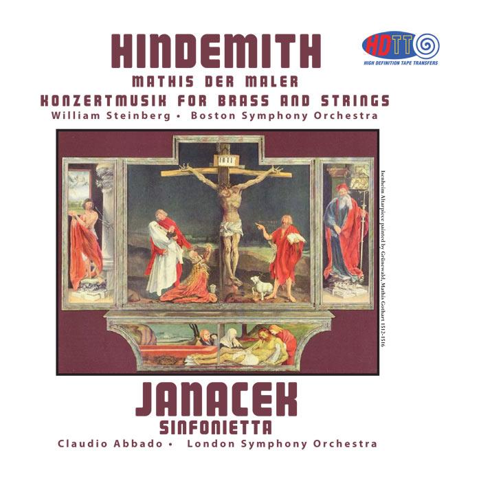 Symphony Mathis der Maler / Sinfonietta / Konzertmusik for Brass and Strings