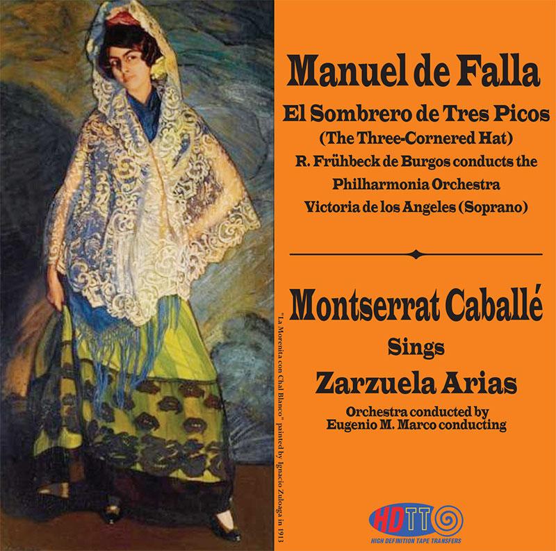 El Sombrero de Tres Picos (The Three-Cornered Hat) / Zarzuela Arias