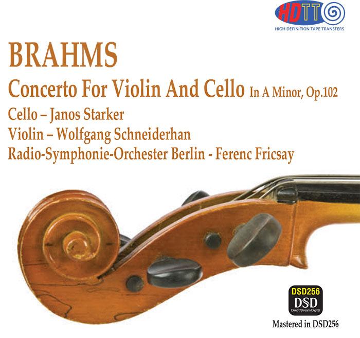 Concerto For Violin, Cello, and Orchestra In A Minor, Op. 102  image