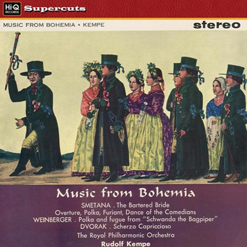 The Bartered Bride / Scherzo Capriccioso, Op. 66 / Schwanda the Bagpiper
