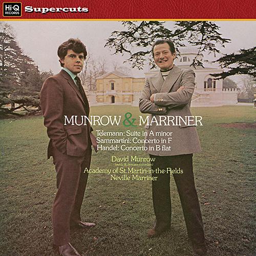 Suite in A Minor for Treble Recorder / Concerto in F Major for Descant Recorder / Concerto in B Flat for Treble Recorder image