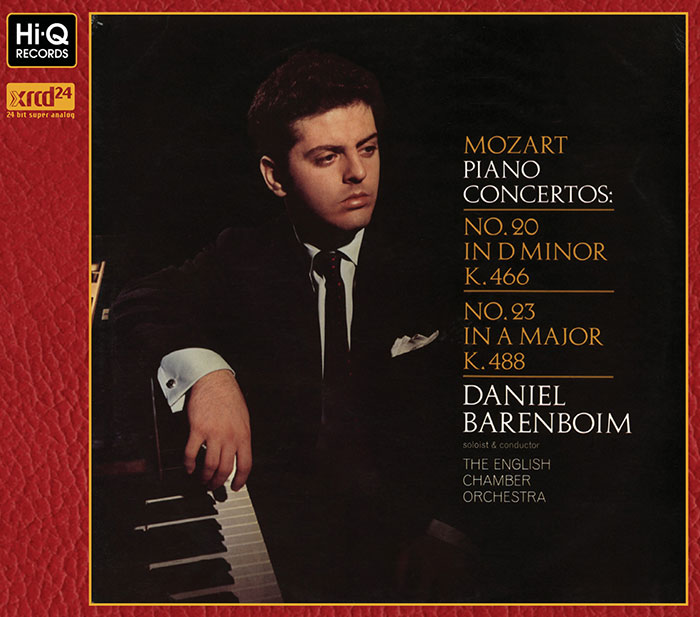 Piano Concertos No.20 and No. 23