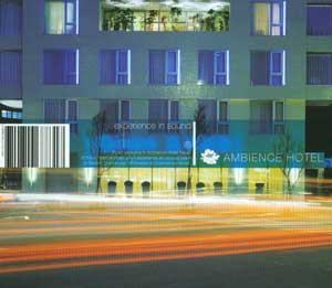 Ambience Hotel - 2 CD z materia³em zmiksowanym oraz wyjsciowym