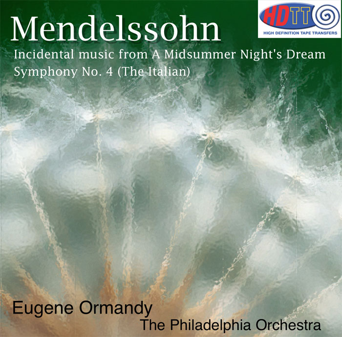 Incidental Music from A Midsummer Night's DreamSymphony No. 4 (The Italian)