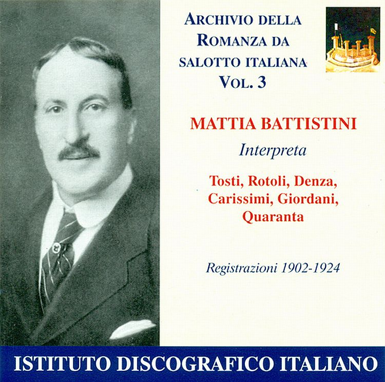 Archives of the Italian chamber songs (Vol. 3)