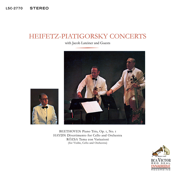 Heifetz-Piatigorsky Concerts With Jacob Lateiner and Guests