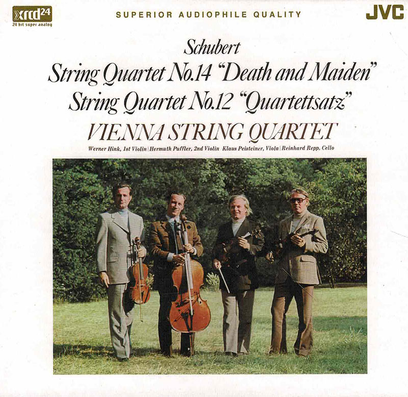 String Quartet No.14 'Death and Maiden' / String Quartet No.12 in C,D.703 'Quartettsatz'