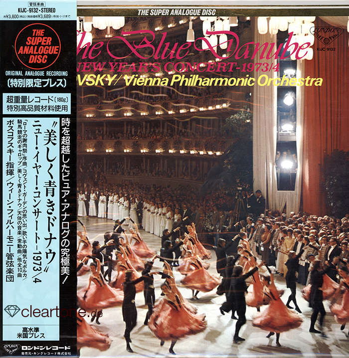 THE BLUE DANUBE - New Year's Concert 1973/4- 1973/4