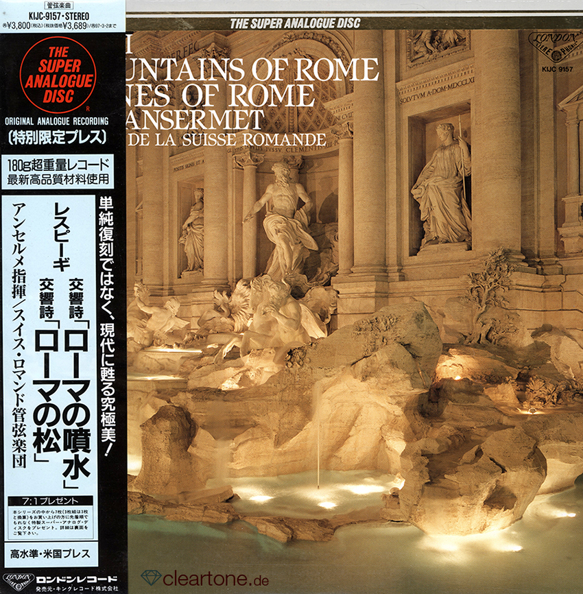 The Fountains Of Rome / The Pines Of Rome