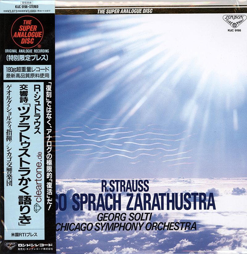 Also Sprach Zarathustra / Symphonic Poem. Op.30