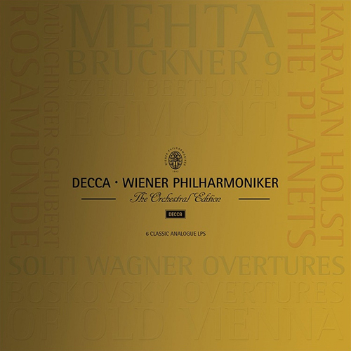 Decca Wiener Philharmoniker - The Orchestral Edition