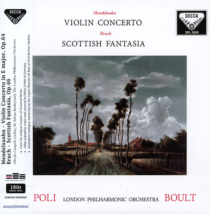 Violin Concerto / Scottish Fantasia