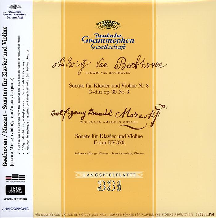 Sonate fue Klavier und Violine Nr. 8 G-dur op.30 Nr. 3 / Sonate fur Klavier und Violine F-dur KV376