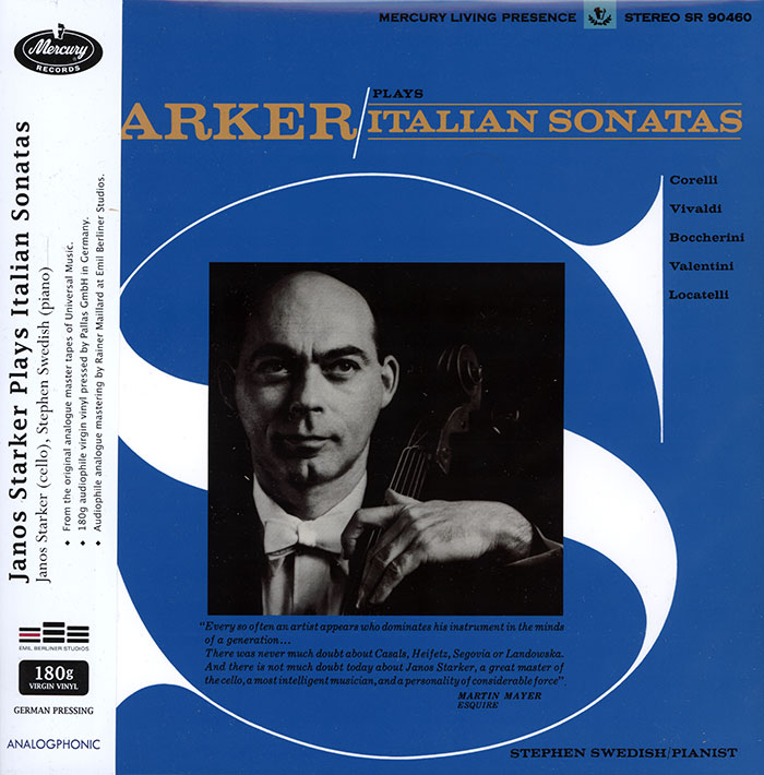 Starker plays Italian Sonatas