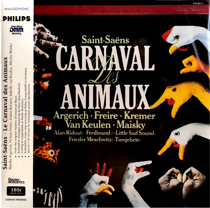 Carnaval des Animaux / Ferdinand, Little sad sound / Tier-Gebete