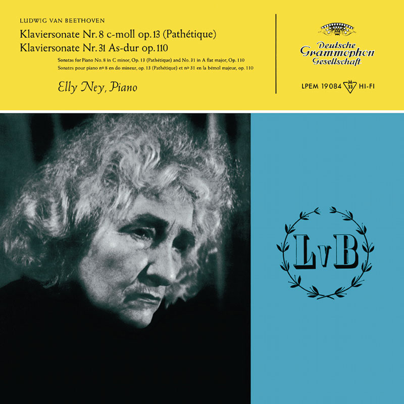 Piano Sonatas No. 8 C minor op. 13 (Pathétique), No. 14 C sharp minor op. 27 No. 2 (Moonlight Sonata), No. 23 F-minor op. 57 (Appassionata), No. 31 A-flat major op. 110