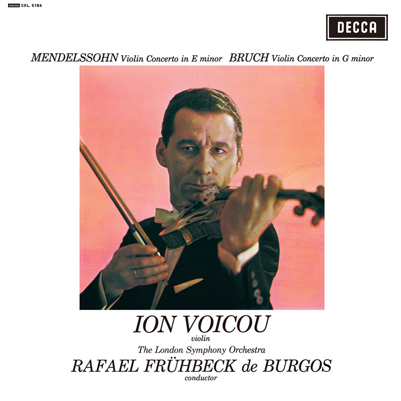 Violin Concerto In E Minor / Violin Concerto No. 1 In G Minor image