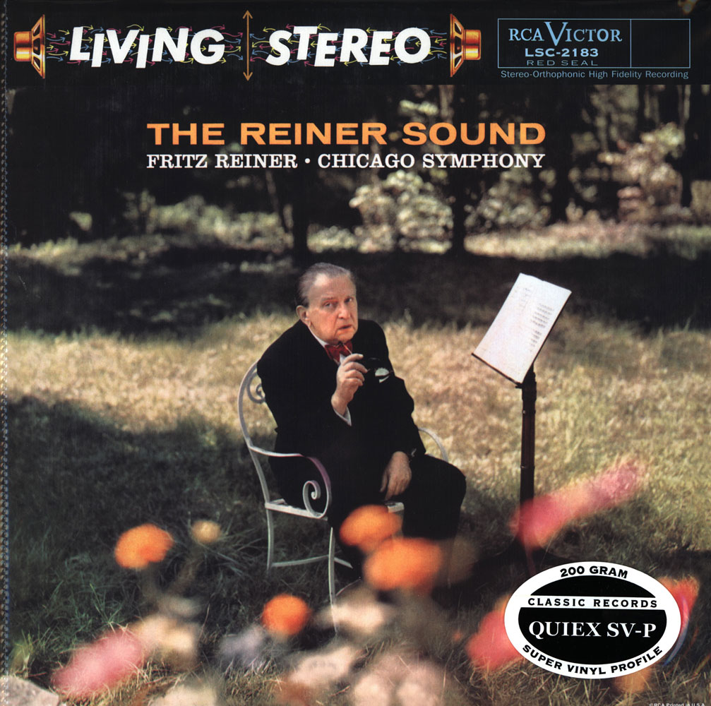 The Reiner Sound - Rapsodie Espagnole / Pavan for a Dead Princess / Isle of the Dead
