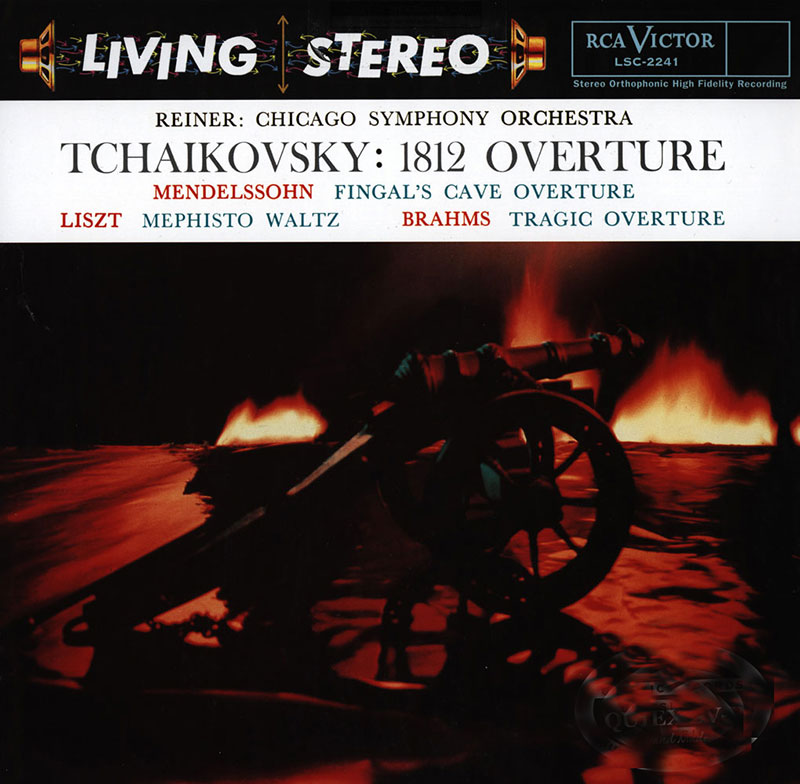 1812 Overture / Fingal's Cave Overture / Mephisto Waltz / Tragic Overture image