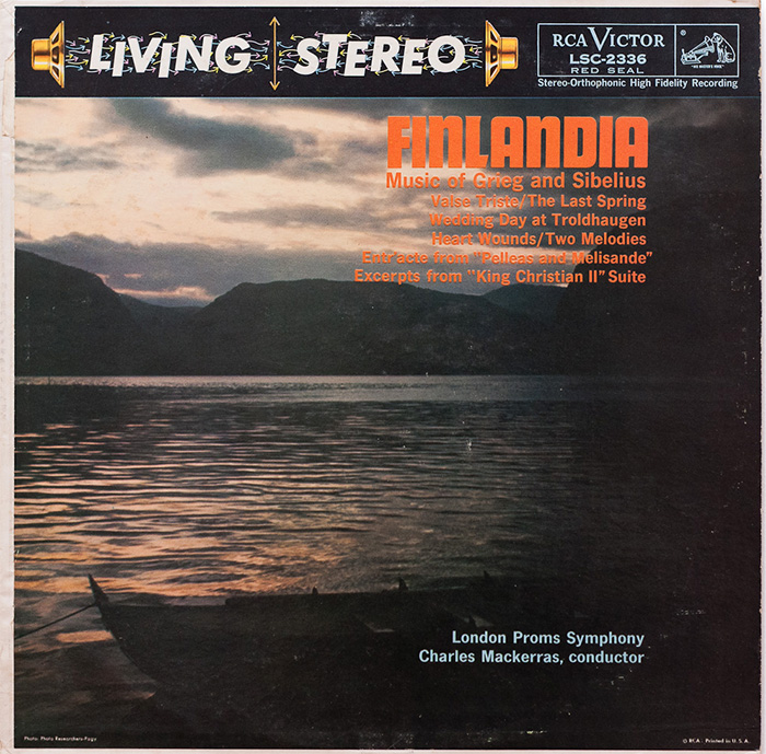 Finlandia / Wedding Day at Troldhaugen / Valse triste / Two Elegiac Melodies