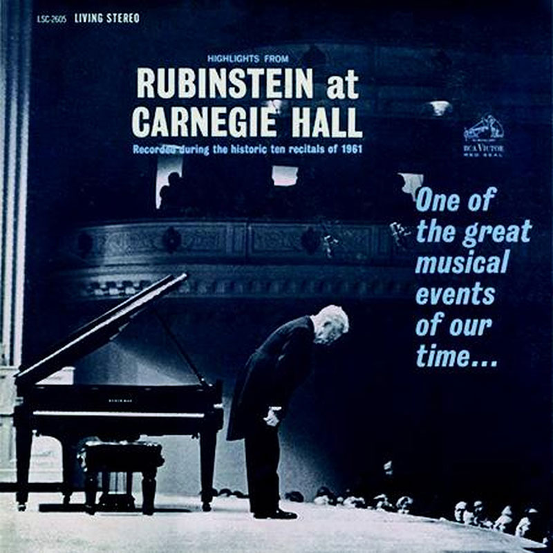 Highlights From Rubinstein At Carnegie Hall image