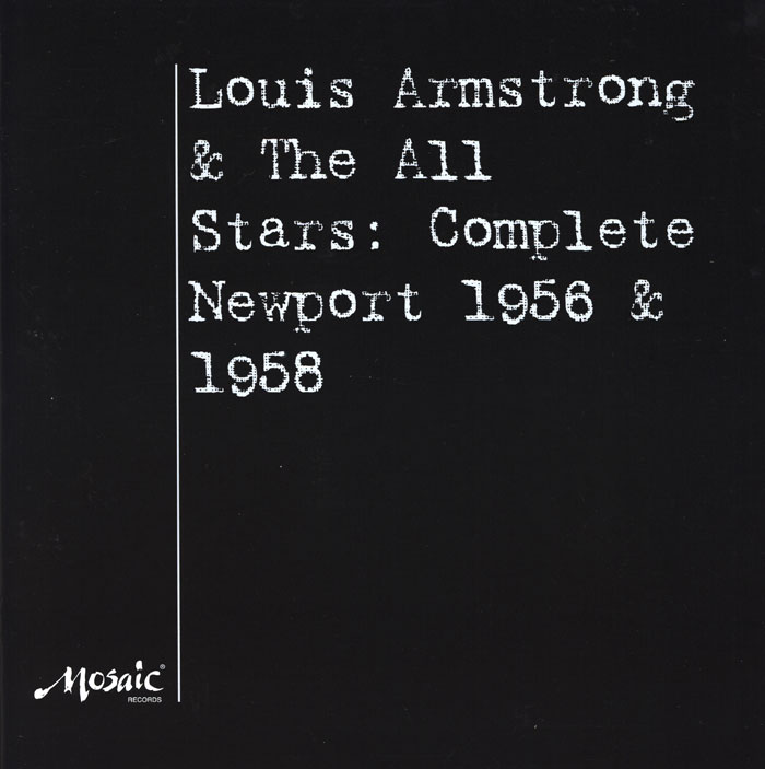 Louis Armstrong And The All Stars Complete Newport 1956 And 1568