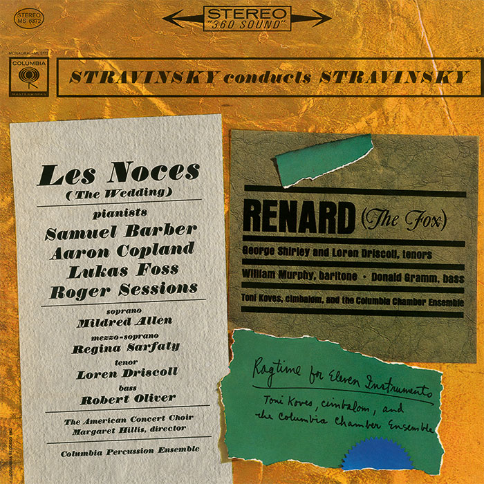 Les Noces (The Wedding) / Renard (The Fox) / Ragtime for Eleven Instruments