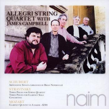 Arpeggione Sonata // Three Pieces for String Quartet // Three Pieces for Clarinet Solo // Clarinet Quintet in A Major  - CENA TYLKO W TYM TYGODNIU! image