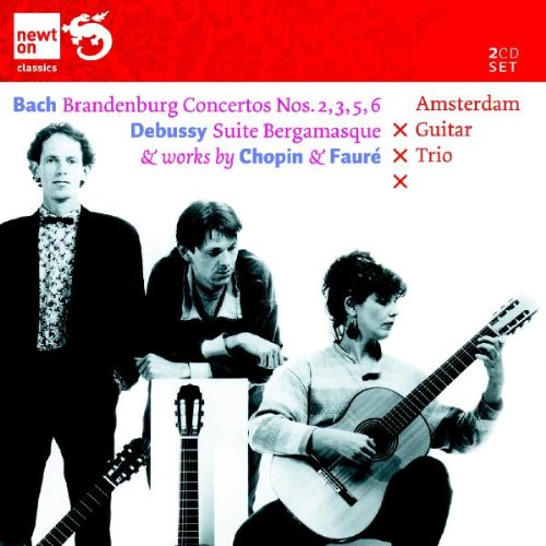 Brandenburg Concertos Nos. 2,3,5,6 / Suite Bergamasque / Works by Chopin And Faure image