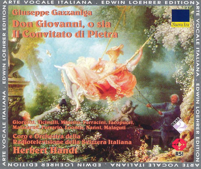 Don Giovanni, o sia Il Convito di Pietra
