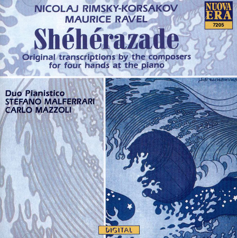Sheherazade (Original transcriptions by the composers for four hands piano)