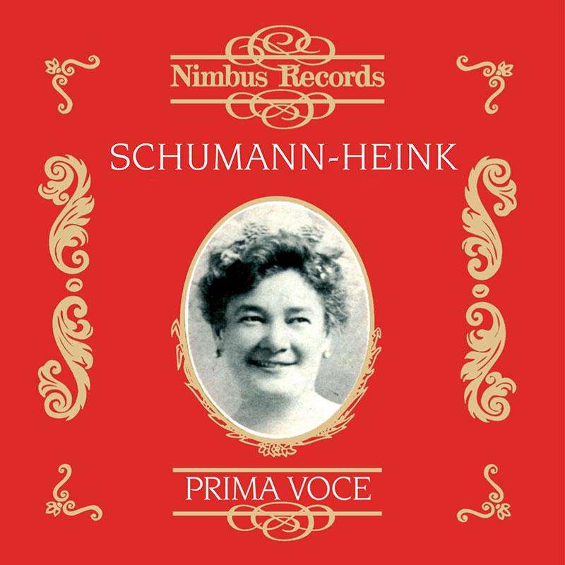Ernestine Schumann-Heink 1906-1929