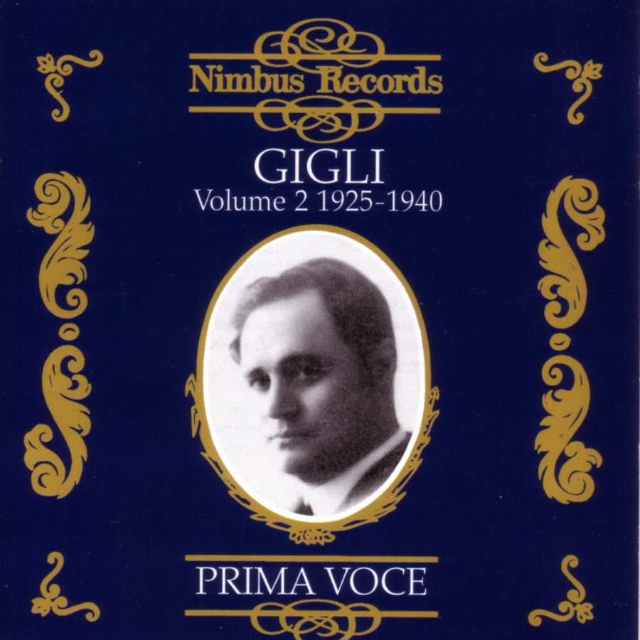 Beniamino Gigli Vol. 2 - 1925-1939