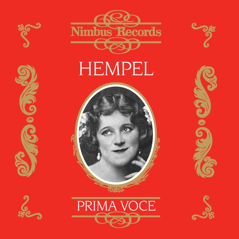 Freida Hempel 1910-1935
