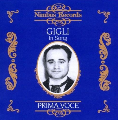 Beniamino Gigli in Song 1925-1942