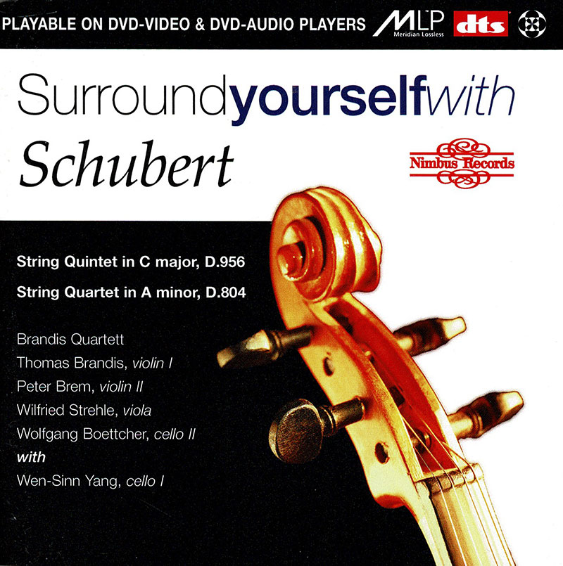 String Quintet in C major, D. 956 / String Quartet in A minor, D. 804
