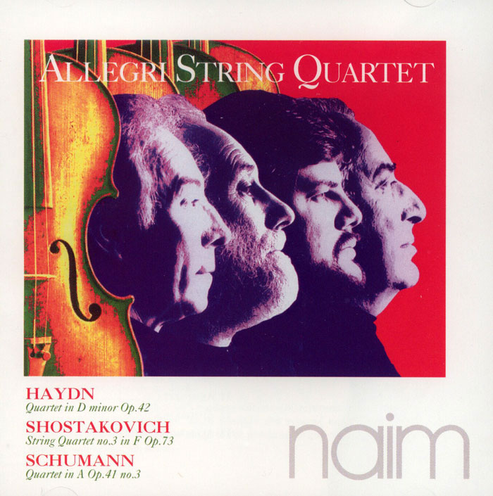 Quartet in D Minor Opus 42 // String Quartet No.3 in F // Quartet in A Opus 41 No.3