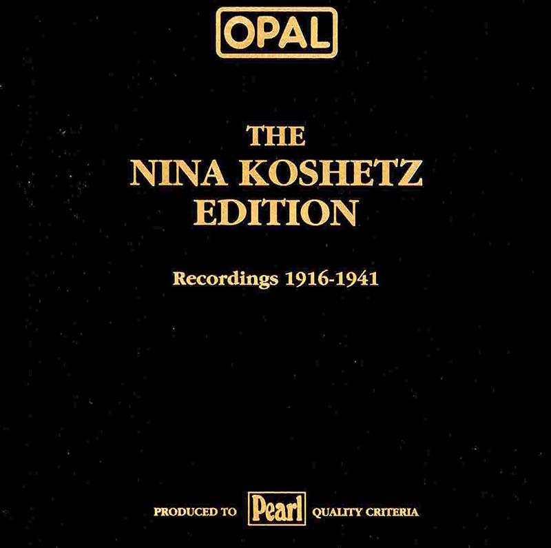 Recordings 1916-1941