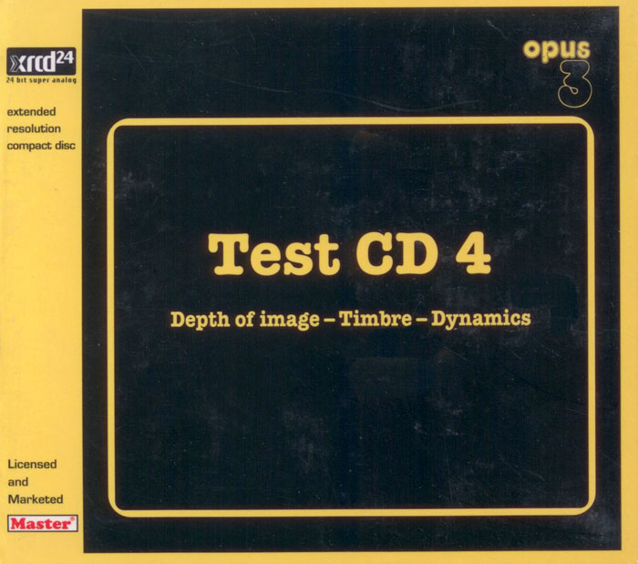 Depth of Image - TEST CD 4