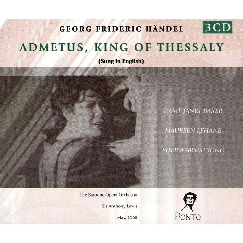 Admetus, King of Thessaly - 3CD