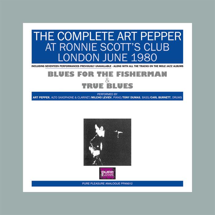 The Complete Art Pepper At Ronnie Scott's Club London June 1980