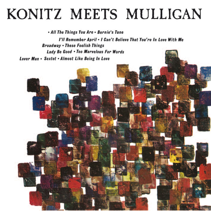 Konitz meets Mulligan image